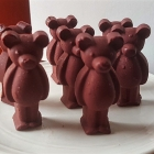 Chocolate Rummy Bears