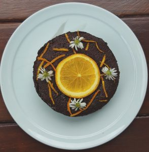 Fat Flour Free Almond Orange Chocolate Cake