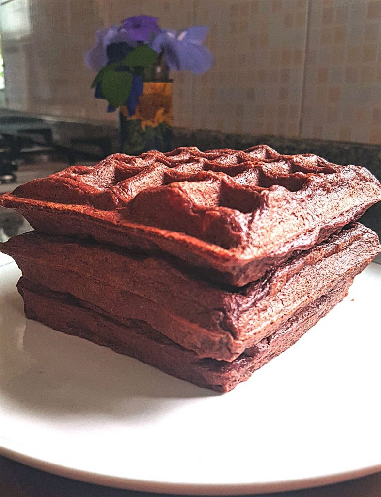 Keto Chocolate Waffles